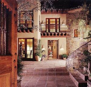 Innenhof Spanischer Häuser : courtyard casas pinterest haus kolonialstil und traumhaus ~ Udekor.club Haus und Dekorationen