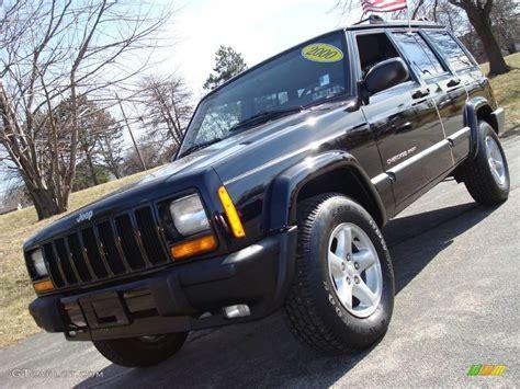 black jeep cherokee 2000 black jeep cherokee sport 4x4 3369550 gtcarlot com