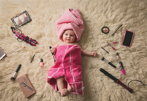 month baby girl pink   towels photography ideas
