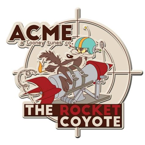 Placa de Alumínio The Rocket Coyote: Looney Tunes ...