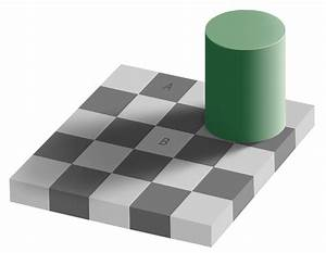 Color Illusions And Color Blind Tests