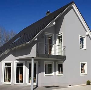 Hausfassade Weiß Anthrazit : preview ~ Markanthonyermac.com Haus und Dekorationen