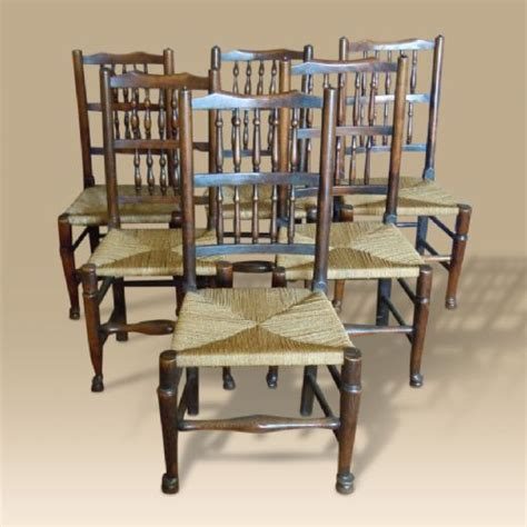 salvage kitchen cabinets harlequin set of six mid 19th century spindle back chairs 2094