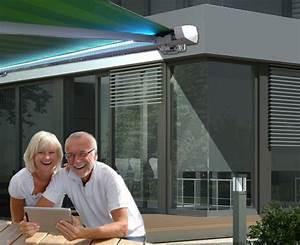smarthome markise mit somfy connexoon bei sowerode online With markise balkon mit tapeten online bestellen