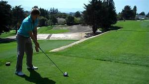 UCLA Men's Golf teeing off on #4 at Pasatiempo - YouTube