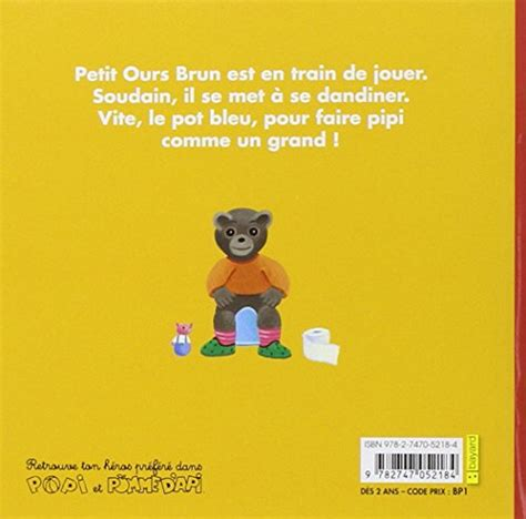 petit ours brun sur le pot narrativa contemporanea panorama auto