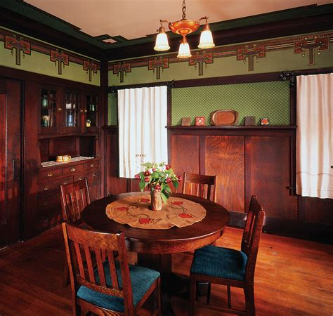 arts and crafts home interiors arts and crafts bungalow interiors arts crafts dining