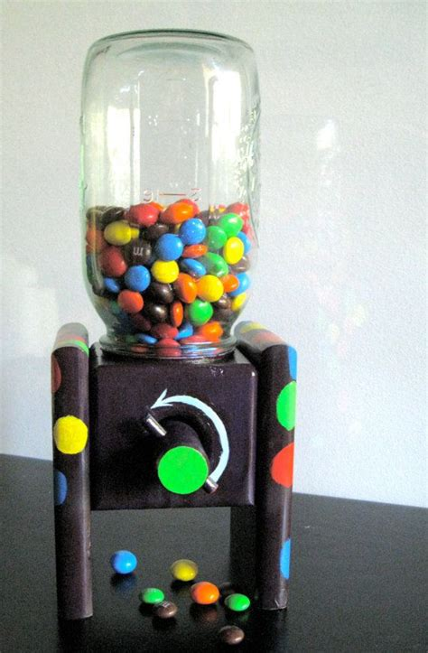 wood mason jar candy dispenser  plans