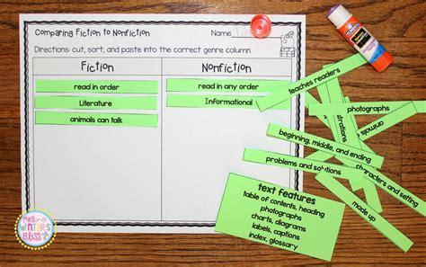 fiction vs nonfiction teaching ideas mrs winter s bliss