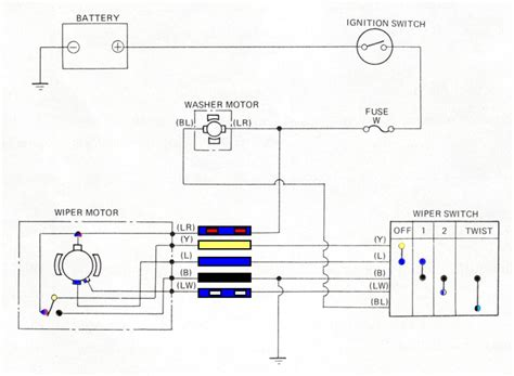 trico wiper motor wiring diagram 32 wiring diagram