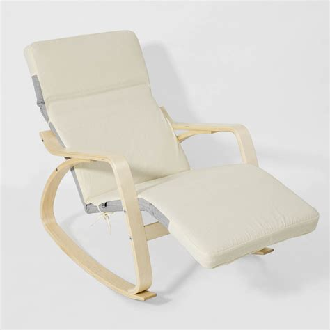 sobuy 174 rocking chair fauteuil 224 bascule fauteuil ber 231 ante