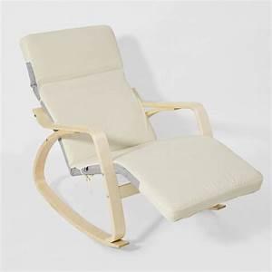 Sobuyr rocking chair fauteuil a basculefauteuil bercante for Fauteuil rocking chair