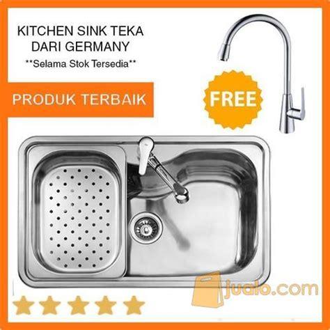 harga kitchen sink promo sink dapur merk teka bahia 1b plus gratis kran linea 1584