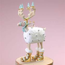 patience brewster mini moonbeam blitzen ornament wooden duck shoppe