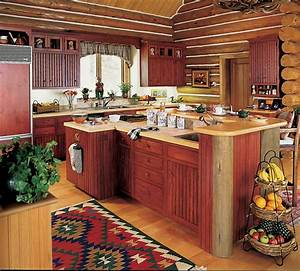 rustic wood kitchen cabinet kitchen islands ideas indoor plant With country kitchen designs with island