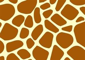 Giraffe Print Pattern Printable