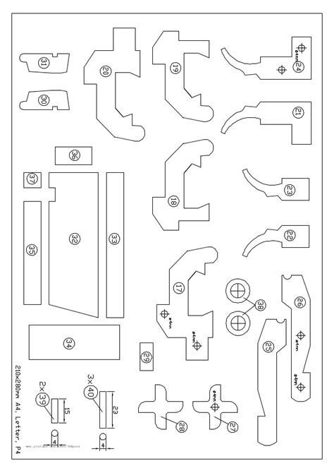rubber band gun template band free gun plan rubber