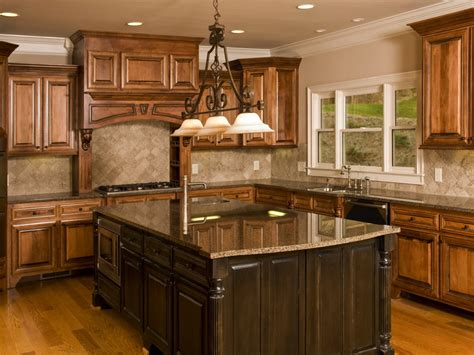 Kitchensweet Tropical Brown Granite Countertops Kitchen Ideas