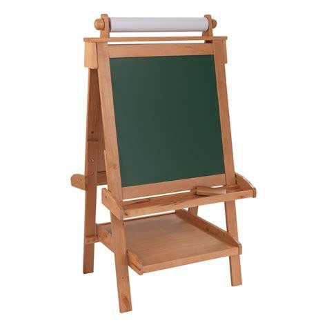 Kidkraft Easel Desk Canada by Kidkraft Deluxe Wood Easel W Paper Roll