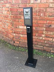 Lorry Height Intercom Post For Access Control