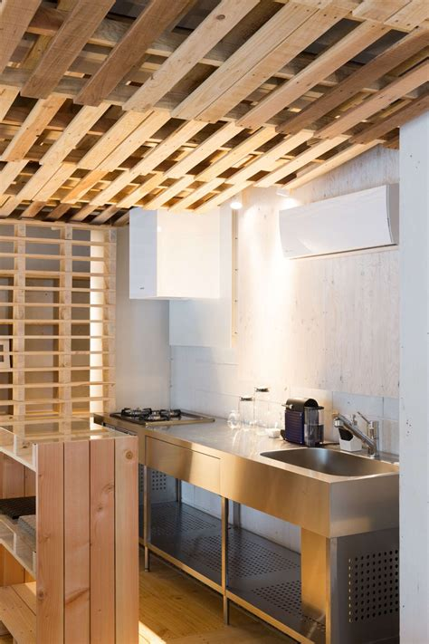 ingenious  cost renovation   office featuring pallets