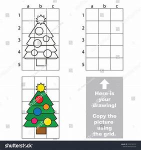 How To Draw A Christmas Tree Step By Step Easy For Kids