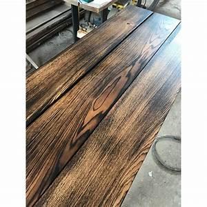 Tischplatte Eiche Geölt : brett bohle rustikal tisch tischplatte eiche geflammt diy vollholz 150cm ge lt ~ Frokenaadalensverden.com Haus und Dekorationen
