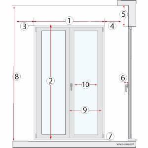 Dimensions Standard Fenetre : dimension standard porte fenetre dthomas ~ Melissatoandfro.com Idées de Décoration