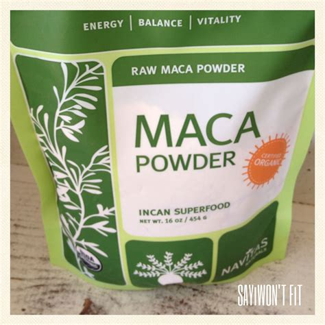 Superfood Maca Powder Maca Is A Root That Grows In The
