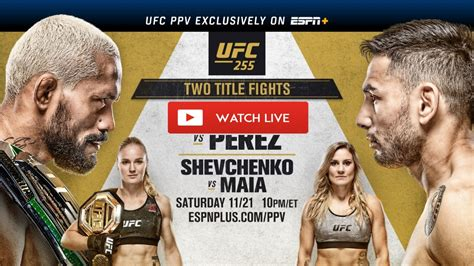 UFC 255 live stream FREE Reddit: MMA PPV Fight Figueiredo ...