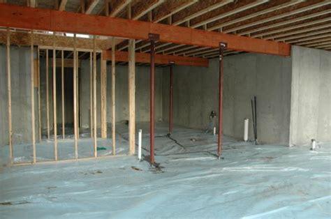 Basement Slab Insulation  Middleton Green Home