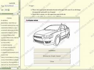 Mitsubishi Repair Manual  Service Manual  Workshop Manual