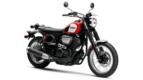Yamaha Goes Retro With Its New Scr950 Motorcycle