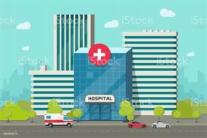 Hospital Cartoon Clinic Medical Clipart Building Center