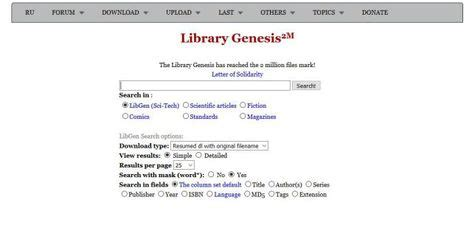 Library Genesis - New Library Genesis Proxy & Mirror Sites List 2019 (With images) | Genesis ...