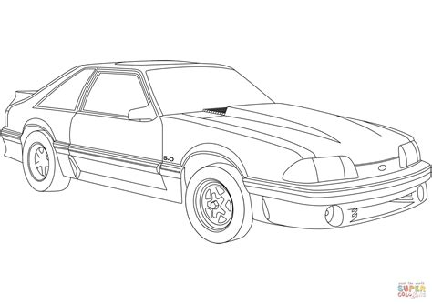 Mustang Coloring Pages 14713 Mustang Coloring Pages