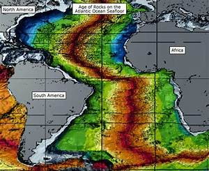 age of rocks on the atlantic seafloor With how did scientists determine the age of the ocean floor