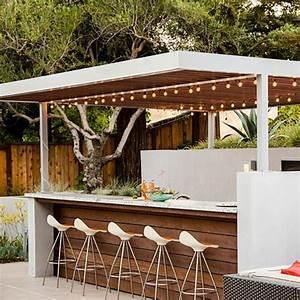 Bar Exterieur De Jardin : 1001 id es d 39 am nagement d 39 une cuisine d 39 t ext rieure ~ Dailycaller-alerts.com Idées de Décoration