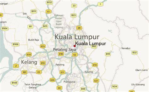 map  kuala lumpur toursmapscom