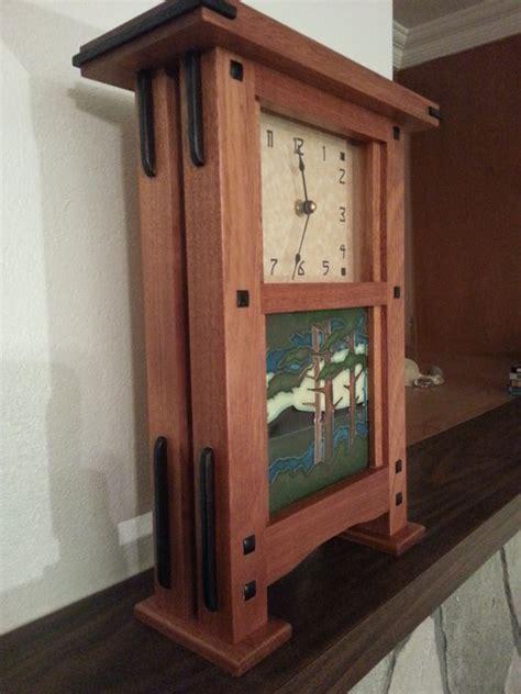 pair  greene  greene style clocks  godofbiscuits  lumberjockscom woodworking community
