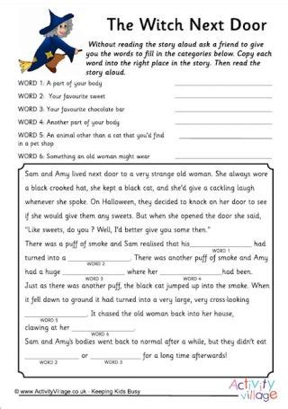 witch printables  images halloween teaching