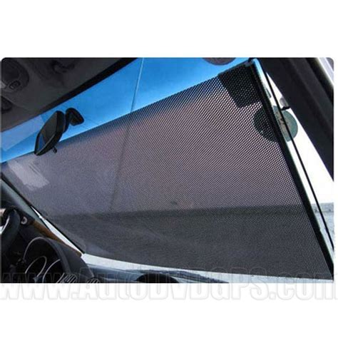 black auto retractable front car curtain car window