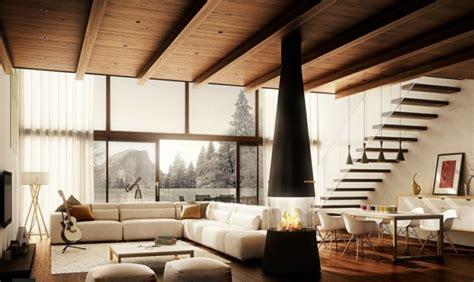 Moderne Holzdecken Preiswert Und Komfortabel by Wandfarben Ideen F 252 R Eine Stilvolle Und Moderne Wandgesteltung