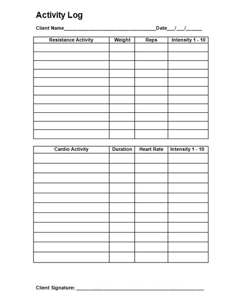 Personal Trainer Templates Free by 27 Images Of Free Template For Personal Trainers Gieday