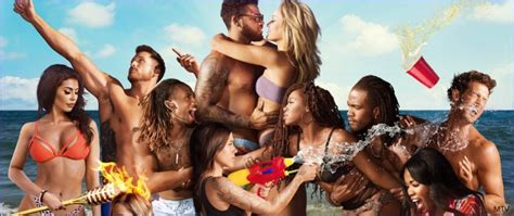 mtv premiering    beach  april cast includes jasmine goode chase mcnary  paul