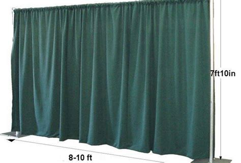 pipe and drape for trade show booth displays rk is