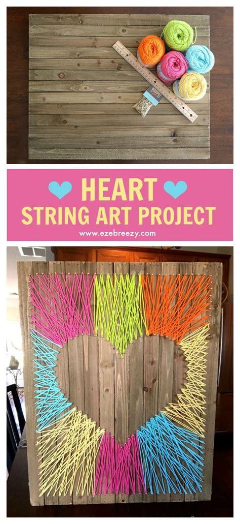 fun  easy string art craft string art string crafts