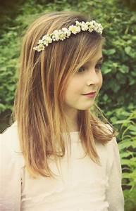 Coupe Petite Fille Mi Long : coiffure mariage voile cheveux longs ~ Melissatoandfro.com Idées de Décoration