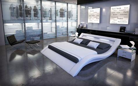 lit 180x200 led lit design furtado ii led blanc 180x200 cm bedroom