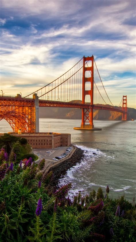 san francisco bruecke meer kalifornien usa